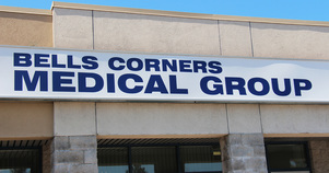 Bells Corners Medical Group Sign